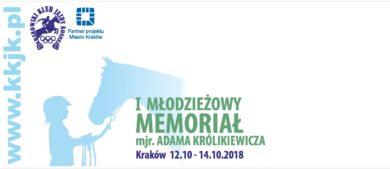 I Młodzieżowy Memoriał mjr. Adama Królikiewicza
